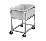 Channel 600 Jumbo Poly Cart & Lug w/ 19-gal Capacity, Aluminum