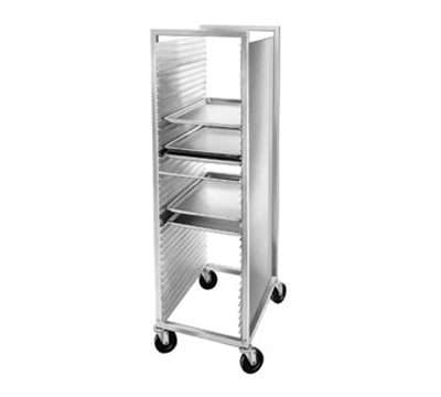 "Channel 620 Front Loading Bun Pan Rack w/ 40-Pan Capacity & 1.5"" Spacing, Aluminum"