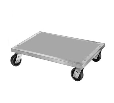 "Channel AD2428 Mobile Dunnage Dolly w/ 1200-lb Capacity, 24x28"", Aluminum"