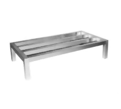 Channel ADE2460 Tubular Dunnage Rack w/ 2000-lb Capacity, 60x24-in, Aluminum