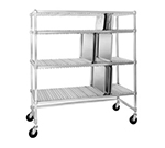 "Channel FTDR-4 Tray Drying Rack w/ 3-Shelf & 2.75"" Spacing, Aluminum"