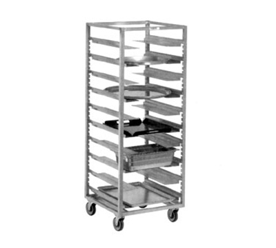 Channel AUR-12 64-in Universal Rack w/ 1.5-in Spacing, Aluminum