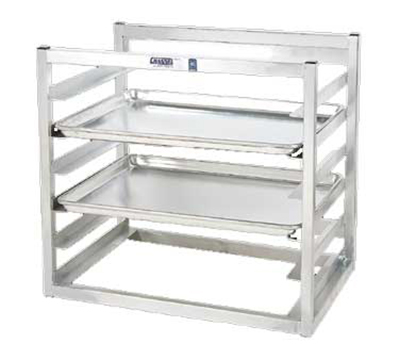 "Channel AWM5 Wall Mounted Sheet Pan Rack w/ (5) Half-Size Pan Capacity, 3"" Spacing, Aluminum"