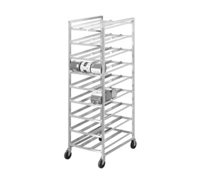 Channel CSR-9M 82-in Mobile Can Storage Rack w/ 162-Can Capacity, Aluminum