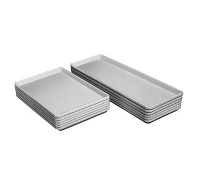 Channel D1826-W Display Storage Tray w/ Reinforced Front & Side Edges, White