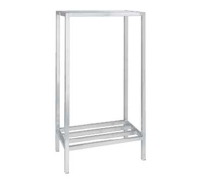 Channel ED332-2 Tubular Dunnage Shelving w/ 2-Shelf & 52.5-in Spacing, 36x24-in, Aluminum