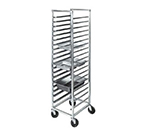 "Channel ETPR-3E End Loading Steamtable Pan Rack w/ 19-Pan Capacity & 3"" Spacing, Aluminum"