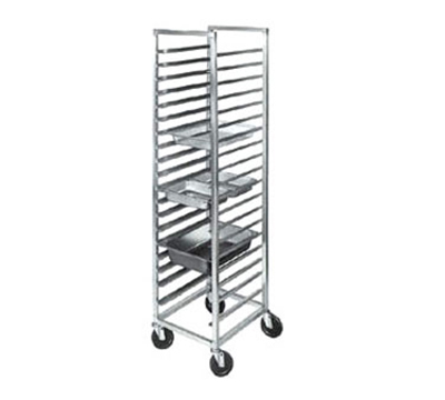 "Channel ETPR-5E End Loading Steamtable Pan Rack w/ 11-Pan Capacity & 5"" Spacing, Aluminum"