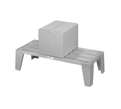 "Channel EXD2060 Dunnage Rack, 60x20"", Aluminum"