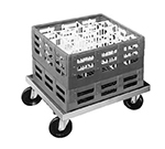"Channel GRD2 Double Stack Glass Rack, 44x22"", Aluminum"