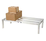 Channel HD2460 12-in Dunnage Rack, 24x60-in, Aluminum