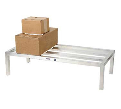 "Channel HD2460 12"" Dunnage Rack, 24x60"", Aluminum"