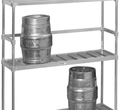Channel KS160 60-In Back Stop For Keg Storage Rack