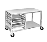 "Channel MW245/P Front Loading Bun Pan Rack w/ 5-Pan Capacity for 18x26"" Pan & 5"" Spacing, Aluminum"