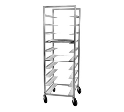 Channel OT-6D Double Section Tray Rack w/ 20-Tray Capacity & 6-in Spacing, Aluminum