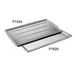 """Channel P1030-W Plastic Platter, 10.5x30"""", Styrene Plastic, White"""