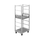 Channel PCR7M Mobile Produce Crisping Rack w/ 7-Basket Capacity & 10.75-in Spacing, Aluminum