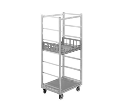 "Channel PCR7 Stationary Produce Crisping Rack w/ 7-Basket Capacity & 10.75"" Spacing, Aluminum"