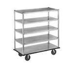 "Channel QMA2860-5 62.5"" Queen Mary Cart w/ 5 Levels, 2000-lb Capacity"