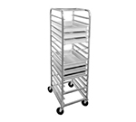 "Channel RB47A Pizza Box Rack w/ 7-Box Capacity & 4"" Spacing, Aluminum"
