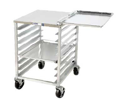Channel RG102 Front Loading Slicer Stand w/ 6-Pan Capacity & 4-in Spacing, Aluminum