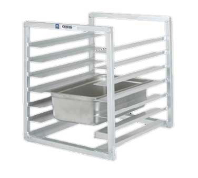 "Channel RIUTR-7 Front Loading Rack w/ 7-Tray Capacity & 3"" Spacing, Aluminum"