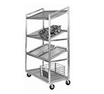 Channel SORT-4 Display Rack w/ 4-Shelf & 16.5-in Spacing, Aluminum