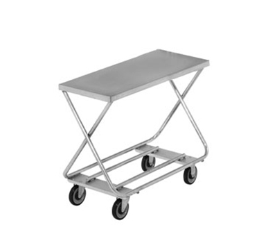 "Channel STKG100 32"" Mobile Stocking Cart w/ No Handle, 17x40"", Steel"