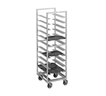 "Channel T445A Cafeteria Tray Rack w/ 40-Tray Capacity for 15x20"" Tray & 3"" Spacing, Aluminum"