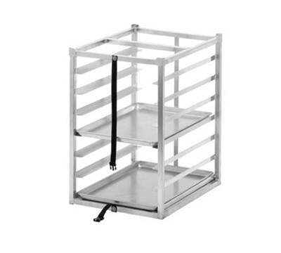 Channel TR2026-7 Front Loading Transportation Rack w/ 7-Level & 3-in Spacing, Aluminum