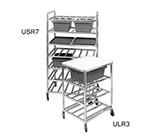 "Channel USR7 Universal Lug Rack w/ 7-Shelf & 8.75"" Spacing, Aluminum"