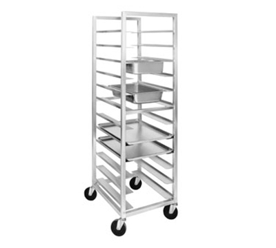 "Channel UTR-12 70"" Universal Rack w/ 12-Pan Capacity & 5"" Spacing, Aluminum"