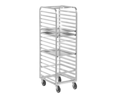 "Channel WA04 Front Loading Bun Pan Rack w/ 13-Pan Capacity & 4"" Spacing, Walk In, Aluminum"