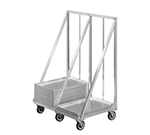 Channel XBPT-2 Double Stack Bun Pan Truck w/ Tubular Frame, Aluminum