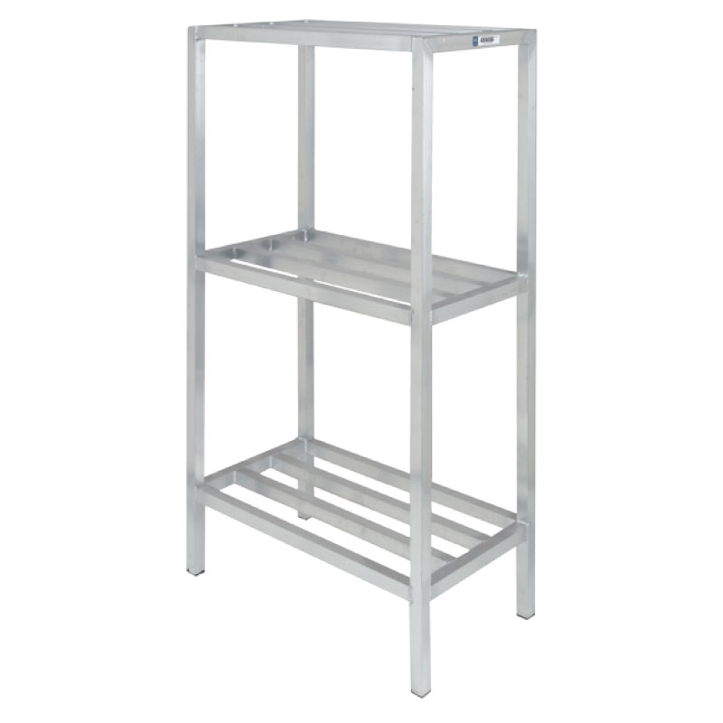 "Channel ED2454-3 54"" Stationary Dunnage Rack w/ 2200-lb Capacity, Aluminum"