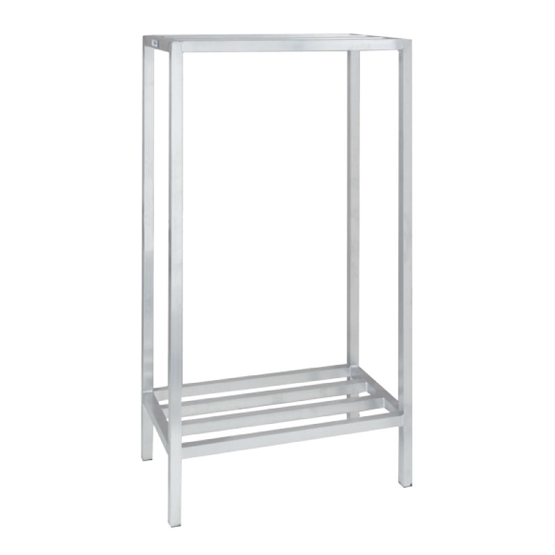 """Channel ED2460-2 60"""" Stationary Dunnage Rack w/ 2200-lb Capacity, Aluminum"""