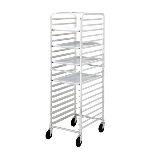 Channel HDKD20 20.5 20-Bun Pan Rack w/ 3 Bottom Load Slides