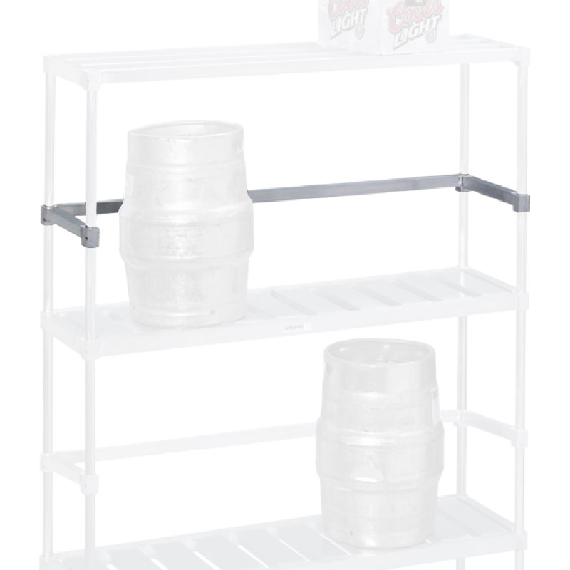 "Channel KS160 60"" Back Stop for Keg Storage Rack"