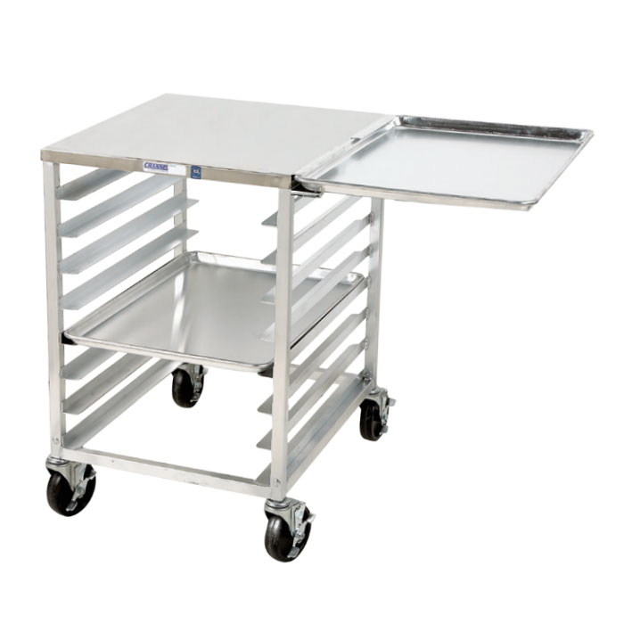 """Channel RG102 Front Loading Slicer Stand w/ 6-Pan Capacity & 4"""" Spacing, Aluminum"""