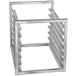 "Channel RIR-7KD 23"" Insert Rack w/ (7) Pan Capacity - Open Sides, Aluminum"