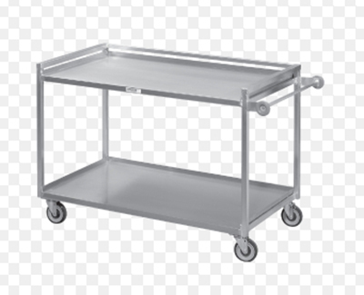 "Channel TDC2937A-3 36"" Utility Tray Delivery Truck w/ 3-Shelf Capacity, 37x29"", Aluminum"