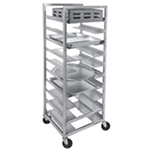 Channel UR-5 36-in Universal Mobile Rack w/ 5-in Spacing, Aluminum