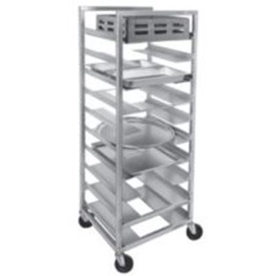 "Channel UR-5 36"" Universal Mobile Rack w/ 5"" Spacing, Aluminum"