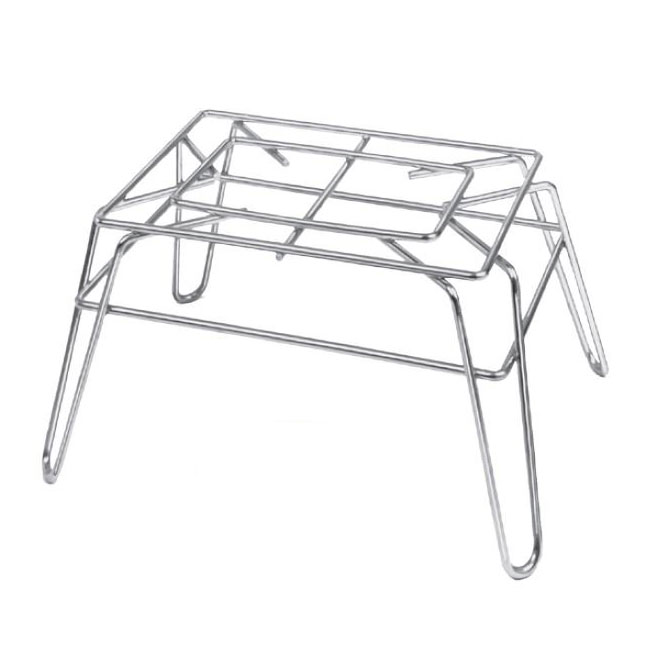 """Channel WDS1410 10"""" Display Stand - 14"""" x 8"""", Chrome Wire"""