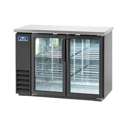 Arctic Air ABB48G 49 (2) Section Bar Refrigerator - Swing...