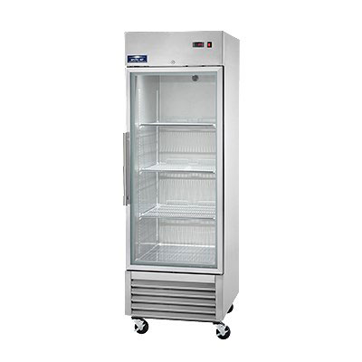 "Arctic Air AGR23 27"" Single Section Reach-In Refrigerator, (1) Glass Door, 115v"