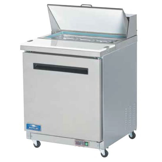 "Arctic Air AST28R 28"" Sandwich/Salad Prep Table w/ Refrigerated Base, 115v"