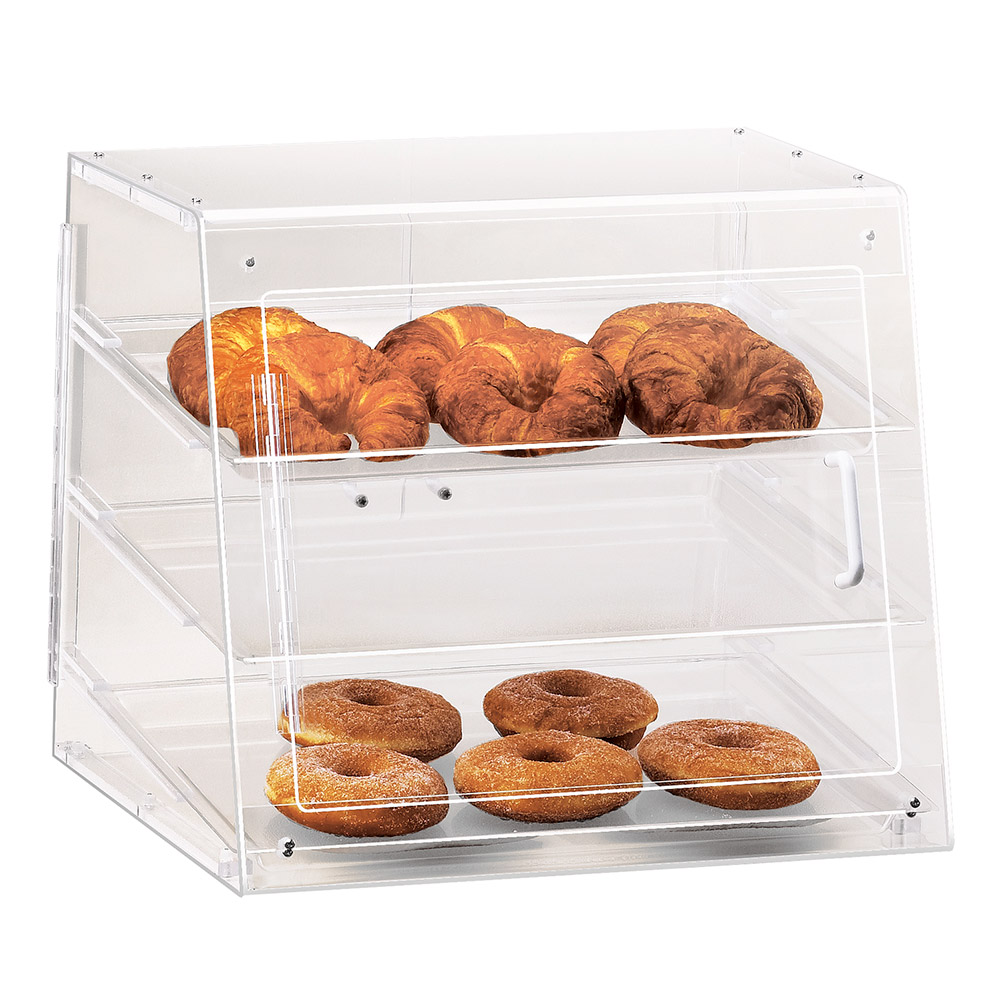 Cal-Mil 1011-S Self Serve Pastry Display Case w/ Slant Front, 19.5 x 17 x 16.5""