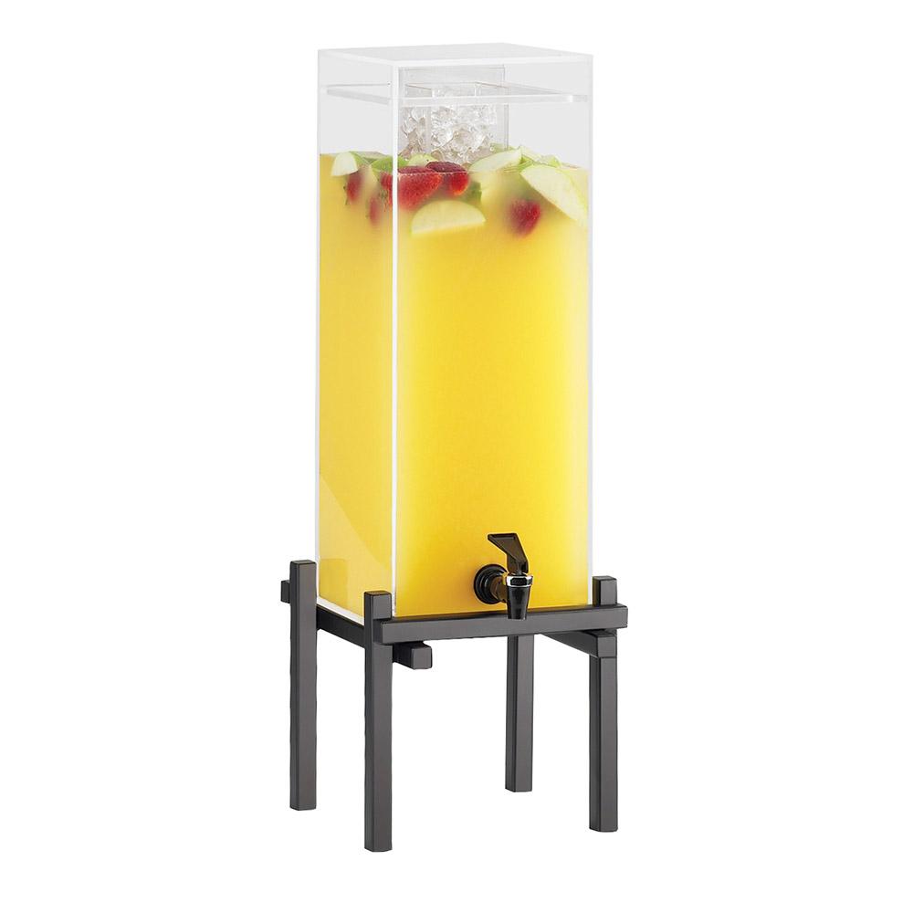 "Cal-Mil 1132-3-13 3-gal Beverage Dispenser - Drip Tray, 10-1/4x10-1/2x25-1/2"", Black"