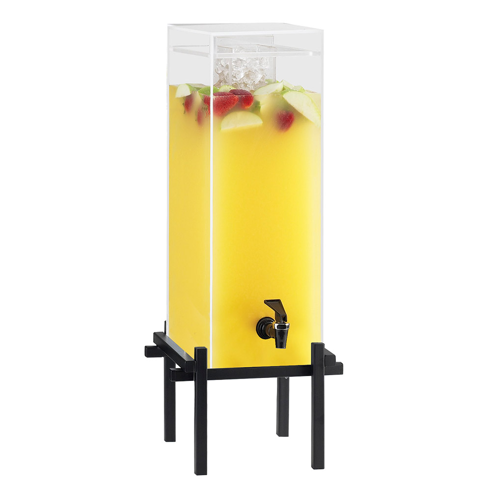 "Cal-Mil 1132-5-13 5-gal Beverage Dispenser - Drip Tray, 11-3/4x18x29"", Black"